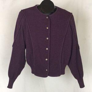 Deans of Scotland Wool Cardigan Sweater Vintage